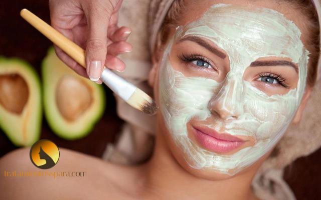 mascarilla de aguacate para la piel reseca