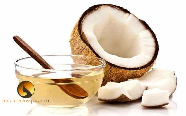 aceite de coco para cabello reseco