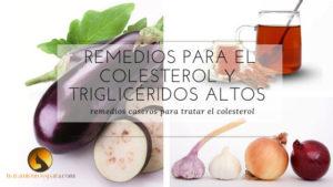 remedios caseros para bajar el colesterol malo y triglicéridos altos