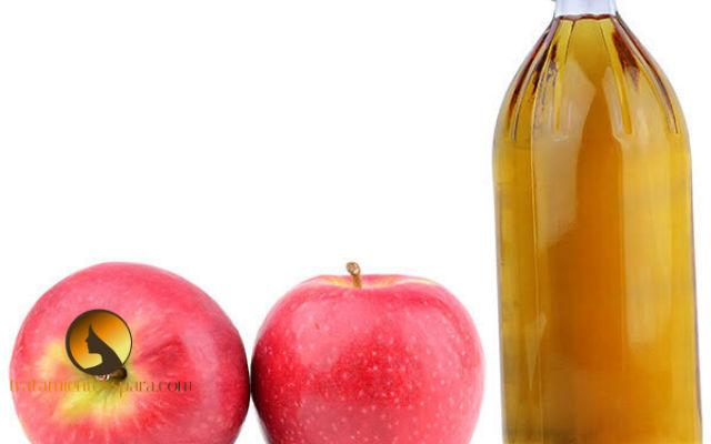 vinagre de manzana diluida para prevenir la calvicie